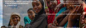 IV Simposium Internacional sobre Actividad Física, Salud y Justicia Social: Poblaciones Vulneradas