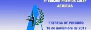 Candidatos definitivos Premios COLEF Asturias 2017
