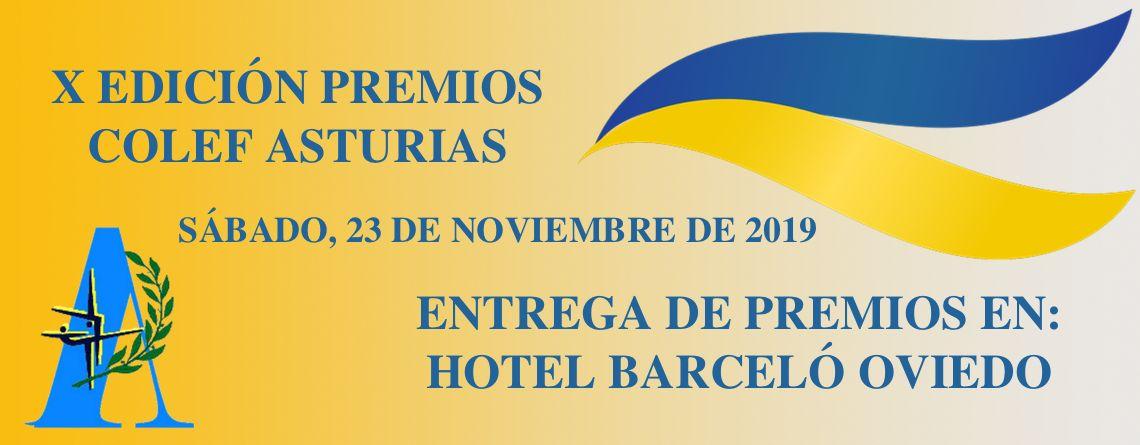 Ganadores Premios COLEF Asturias 2019