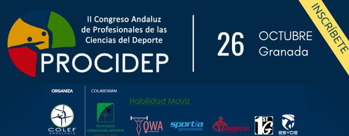 II Congreso andaluz de profesionales de las ciencias del deporte (PROCIDEP)