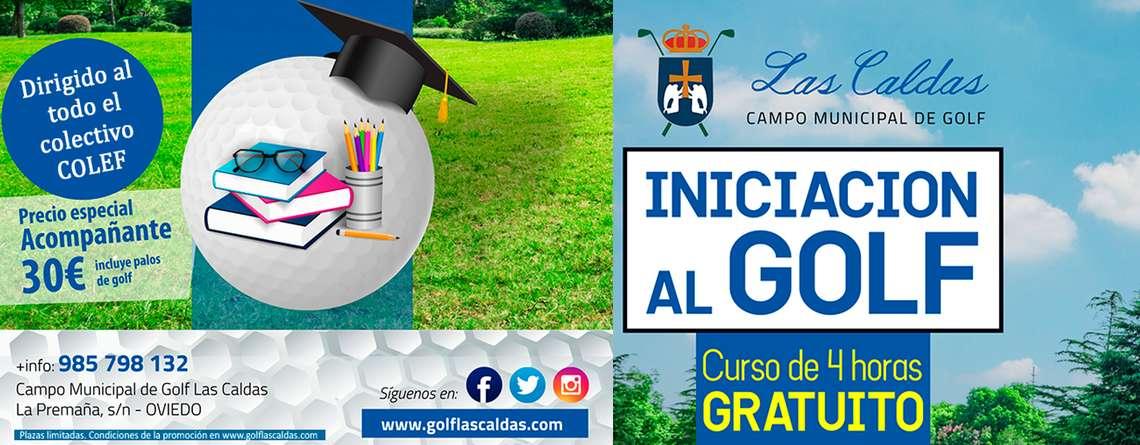 Curso de Golf Gratuito para COLEGIADOS