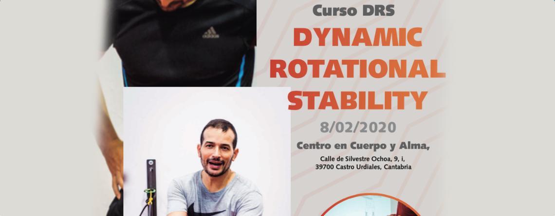 Curso de formación en DRS – DYNAMIC ROTATIONAL STABILITY con descuento para colegiados