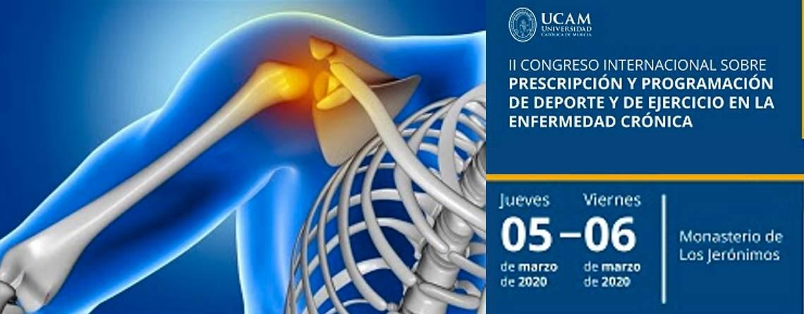 II Congreso Internacional sobre prescripción y programación de deporte y de ejercicio en la enfermedad crónica