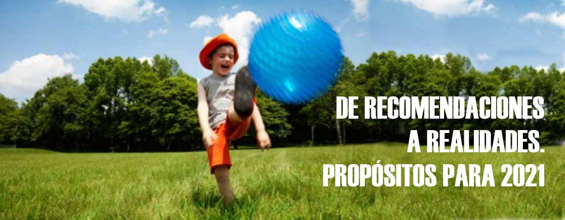 De recomendaciones a realidades, propósitos para 2021